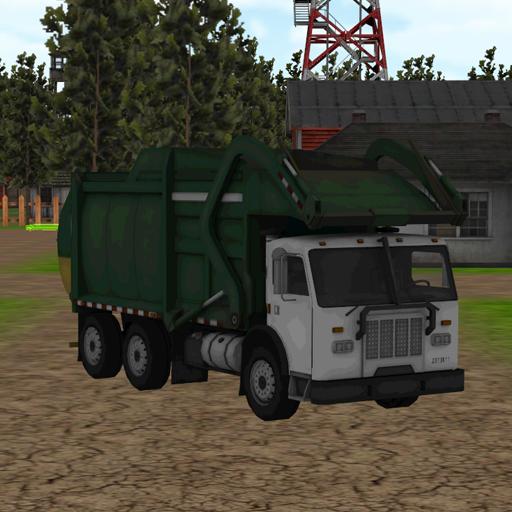 模擬App|不法ゴミダンプトラック LOGO-3C達人阿輝的APP