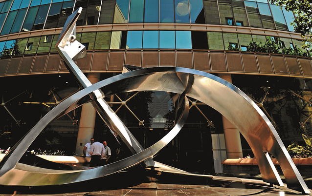 The JSE. Picture: RUSSELL ROBERTS