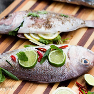 Whole BBQ Fish