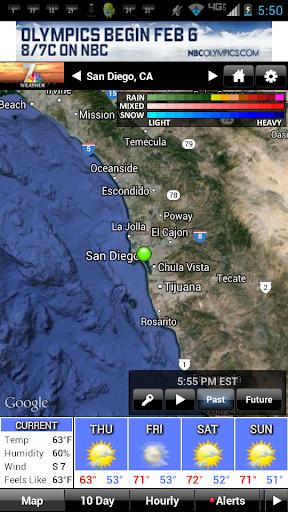 NBC 7 San Diego Weather screenshot 1