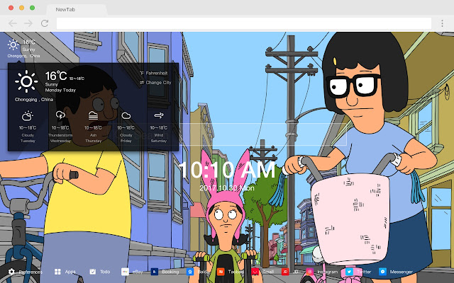 Bob S Burgers New Tab Page Top Wallpapers