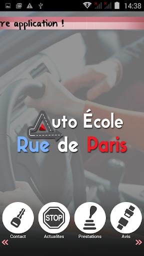 Auto-école Rue de Paris