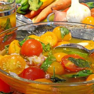 Marinated Farmers Market Tomatoes