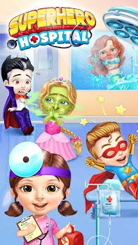Superhero Hospital Doctor