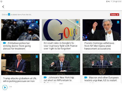 FRANCE 24 - Live international news 24/7 Screenshot