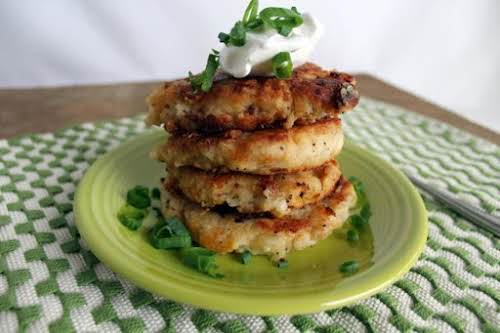 "Post Thanksgiving Potato Pancakes ""What would holiday leftovers be without potato pancakes?..."