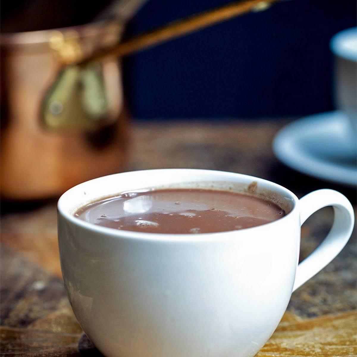 Creamy Dairy-Free Hot Chocolate