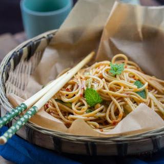Szechuan Cold Noodles.