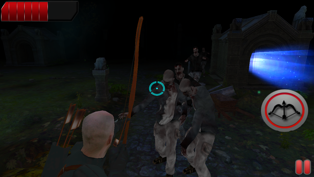 Archer Zombies Hunt 3d- screenshot