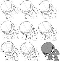 How To Draw Superhero Chibi - screenshot thumbnail 02