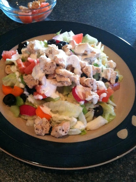 Grilled Chicken Chef Salad Recipe
