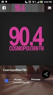 Cosmopolitan FM- gambar mini screenshot