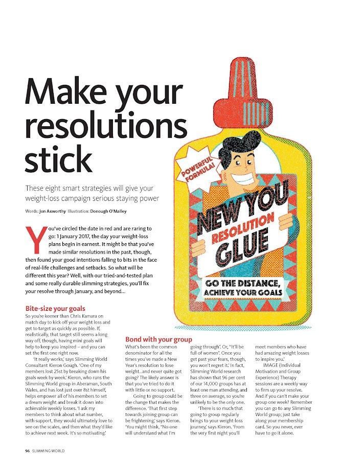 Slimming World magazine- screenshot