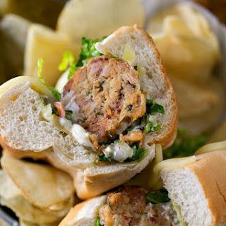 Tuna Meatball Sub {#PinThatTwist}.