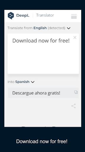 DeepL Translator screenshot 3