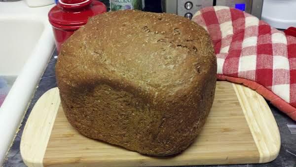 Black Russian Bread Machine Loaf