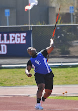 Photo: Chris Street 2nd 173-6: 6th All-Time ECC new rule Javelin performer