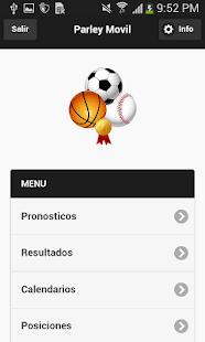 Parley Pronosticos Deportivos - náhled
