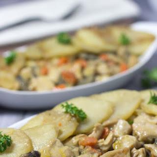 Creamy Chicken Potato Casserole.