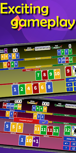 Super Phase Rummy card game 8.3 screenshots 2