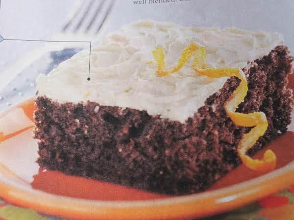 Double Chocolate Triple Sec Cake Recipe