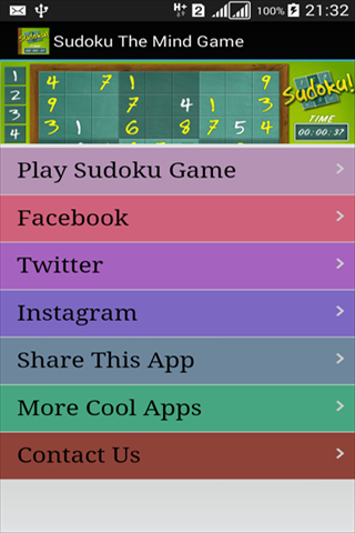 Sudoku The Mind Game