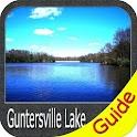 Lake Guntersville gps fishing