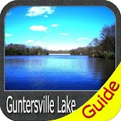 Lake Guntersville GPS Fishing Chart