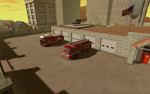 Firefighter Simulator 3D screenshot 1
