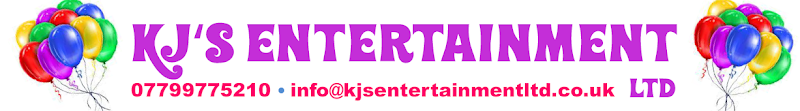 KJ's Entertainment Logo