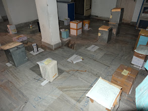 Photo: Sealed State Presidential Ballot Boxes inside the Strong Room