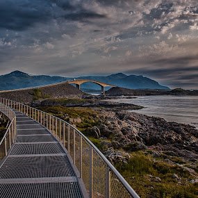 Atlantic road v2 by Morten Johnsrud - Buildings & Architecture Bridges & Suspended Structures ( sony, norge, landscape, norway, a200 )
