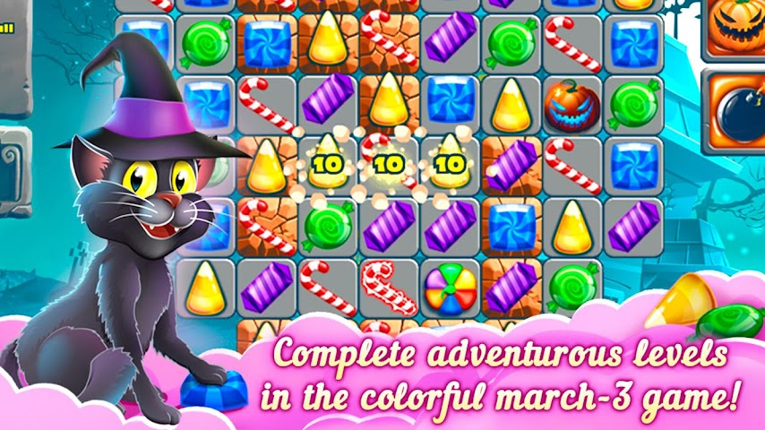 android 3-Süßigkeit: Süße Geheimnis Screenshot 3