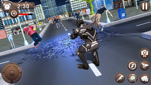 Panther Super Hero Crime City Battle 1.0 screenshots 8