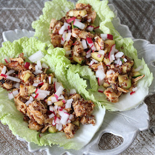 The 28-Day Shrink Your Stomach Challenge Taco Chicken Wraps