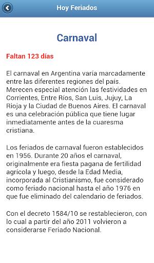 Calendario 1976 Argentina.Download Hoy Feriados Argentina 2016 Google Play Softwares