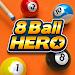 8 Ball Hero - Pool Billiards Puzzle Game icon
