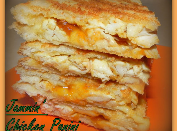 Jammin' Chicken Panini Recipe