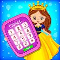 Baby Princess Phone - Princess Baby Phone Games icon