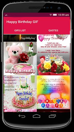 Happy Birthday GIF Apk 2