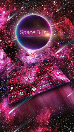 Space Dust Emoji Kika Keyboard 41.0 screenshot 1366100