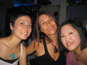 Photo: With friends Satiko & Sueli in Tokyo, Japan