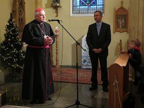 Photo: Приветствие епископа о. Яцекф Пыля OMI.Фото Юлии Карловой