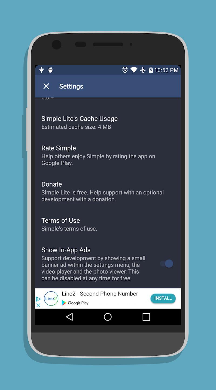 Line2 App