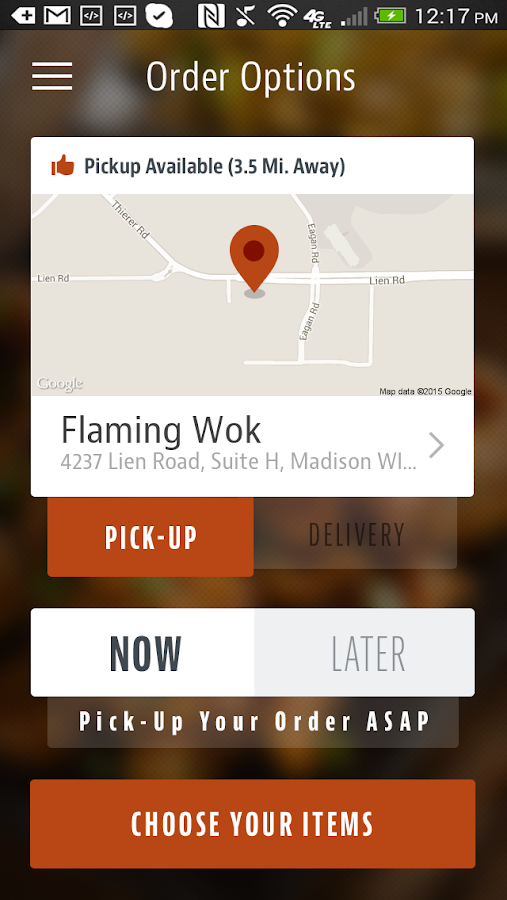 Flaming Wok- screenshot