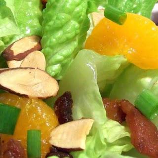 Almond Mandarin Salad.