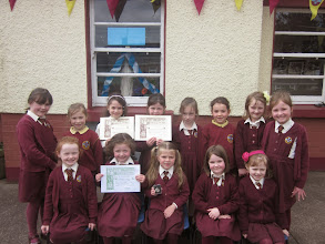 Photo: Junior and Senior Infants Feis Participants
