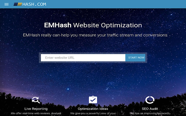 EMHash - SEO & Website Analytics