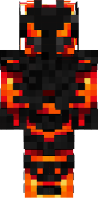 Magma Man Skin Remastered 3D by MG_PomisterZ