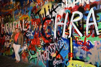 Photo: Prague - John Lennon wall